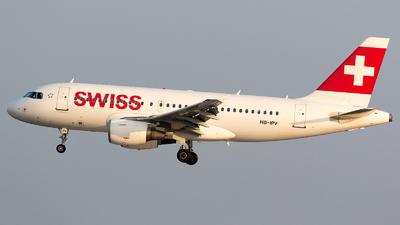 HB-IPV - Airbus A319-112 - Swiss