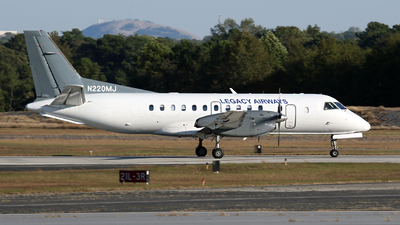 A picture of N220MJ - Saab 340B - Contour Aviation - © Kevin Porter