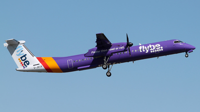 G-JECG - Bombardier Dash 8-Q402 - Flybe