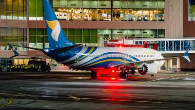 A picture of A4OME - Boeing 737 MAX 8 - Oman Air - © Gleb Borzyakov