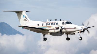 704 - Beechcraft 200 Super King Air - Guatemala - Air Force