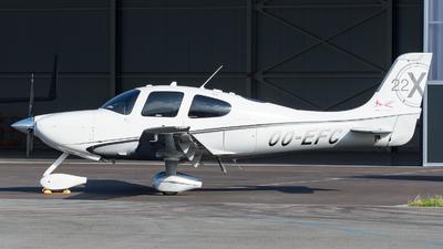 OO-EFC - Cirrus SR22-X Turbo - ASL Academy