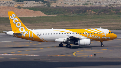 A picture of 9VTAZ - Airbus A320232 - Scoot - © Bingolancer