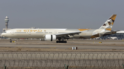 A picture of A6ETF - Boeing 7773FX(ER) - Etihad Airways - © lixing