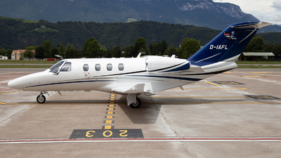D-IAFL - Cessna 525 CitationJet M2 - Private