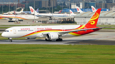 A picture of B1539 - Boeing 7879 Dreamliner - Hainan Airlines - © ECO707