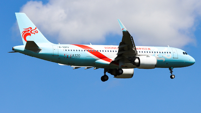 A picture of B30FV - Airbus A320251N - Loong Air - © PPengpeng