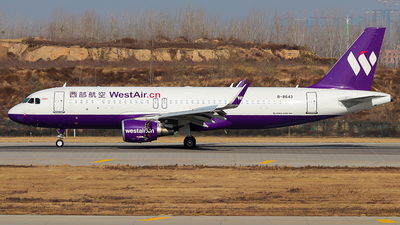B-8643 - Airbus A320-214 - West Air