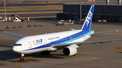 JA709A - Boeing 777-281(ER) - All Nippon Airways (ANA)