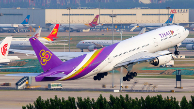 HS-TJS - Boeing 777-2D7(ER) - Thai Airways International
