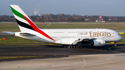 A picture of A6EDV - Airbus A380861 - Emirates - © Marco Materlik