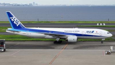 JA742A - Boeing 777-281(ER) - All Nippon Airways (ANA)