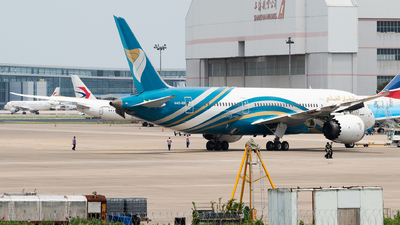 A picture of A4OSB - Boeing 7878 Dreamliner - Oman Air - © Calvin Chu