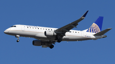 A picture of N85355 - Embraer E175LR - United Airlines - © DJ Reed - OPShots Photo Team