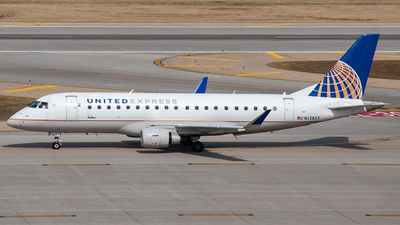 A picture of N138SY - Embraer E175LR - United Airlines - © Twin Cities Spotter