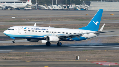A picture of B5309 - Boeing 73786N - Xiamen Air - © zhangmx969