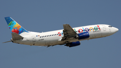 LY-AQV - Boeing 737-35B - Small Planet Airlines