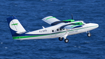 A picture of PJDVD - De Havilland Canada DHC6300 Twin Otter - Divi Divi Air - © Roger Cannegieter