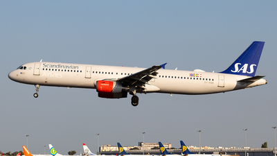 OY-KBB - Airbus A321-232 - Scandinavian Airlines (SAS)
