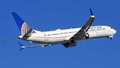 N47512 - Boeing 737-9 MAX - United Airlines