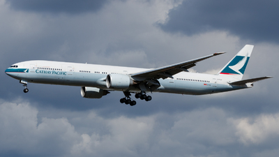 B-KQY - Boeing 777-367ER - Cathay Pacific Airways