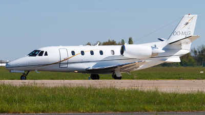 OO-MLG - Cessna 560XL Citation Excel - Abelag Aviation