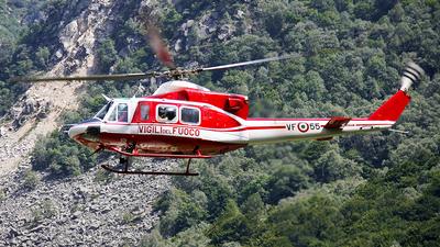 I-VFOG - Agusta-Bell AB-412EP - Italy - Vigili del Fuoco
