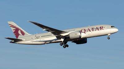 A picture of A7BDA - Boeing 7878 Dreamliner - Qatar Airways - © Hanjo Schrenk