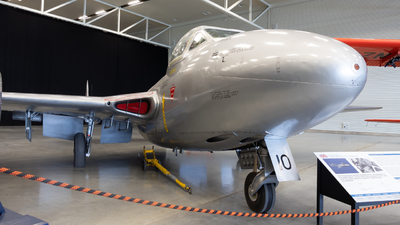 NZ5710 - De Havilland DH-115 Vampire - New Zealand - Royal New Zealand Air Force (RNZAF)