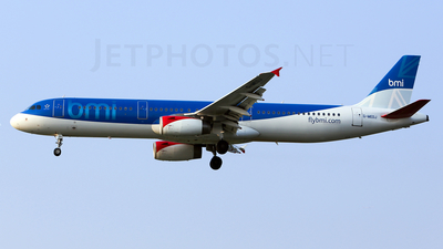 G-MEDJ - Airbus A321-231 - bmi British Midland International