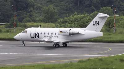 A picture of DAFAI - Bombardier Challenger 604 - United Nations - © ktmspotter