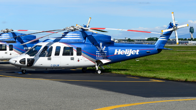 A picture of CGHJK - Sikorsky S76C++ - Helijet International - © Chung Kwok