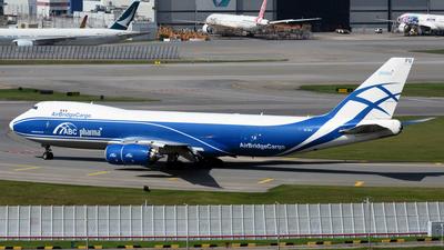 VQ-BFU - Boeing 747-83QF - Air Bridge Cargo