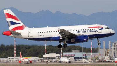 A picture of GEUPN - Airbus A319131 - British Airways - © Alberto Cucini