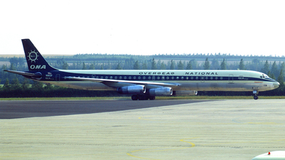 N863F - Douglas DC-8-63(CF) - Overseas National Airways (ONA)