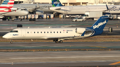 A picture of N861AS - Mitsubishi CRJ200ER - [7445] - © R. Eikelenboom