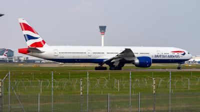 A picture of GSTBP - Boeing 777300(ER) - British Airways - © Janam Parikh