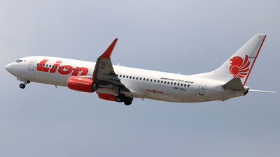 PK-LKJ - Boeing 737-8GP - Lion Air