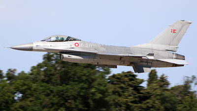 E-011 - General Dynamics F-16A Fighting Falcon - Denmark - Air Force