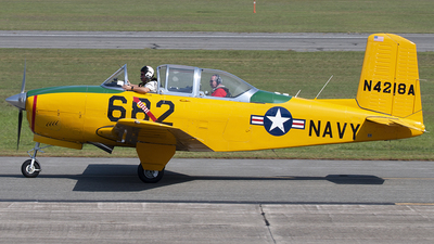 N4218A - Beechcraft T-34A Mentor - Private