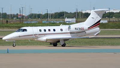 A picture of N416QS - Embraer Phenom 300 - NetJets - © Siddarth Bhandary