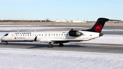 C-FBJZ - Bombardier CRJ-705LR - Air Canada Express (Jazz Aviation)