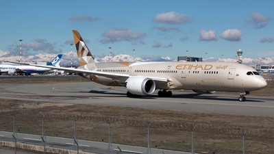 A6-BLD - Boeing 787-9 Dreamliner - Etihad Airways