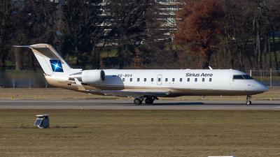VQ-BOV - Bombardier CL-600-2B19 Challenger 850 - Sirius Aero