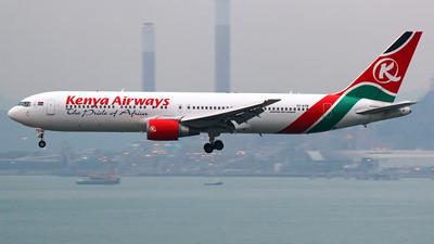 5Y-KYW - Boeing 767-319(ER) - Kenya Airways