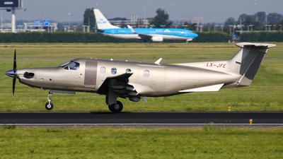 LX-JFE - Pilatus PC-12/47E - Jetfly Aviation