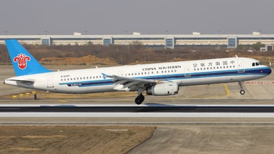 A picture of B6265 - Airbus A321231 - China Southern Airlines - © Fang Xiaoyu