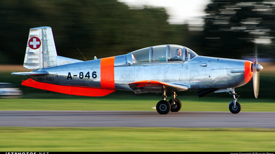 HB-RBU - Pilatus P-3-05 - Private