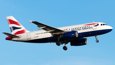 G-EUPY - Airbus A319-131 - British Airways