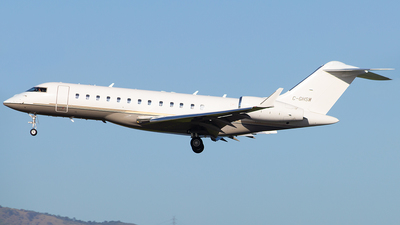 C-GHSW - Bombardier BD-700-1A10 Global Express XRS - WestJet Airlines